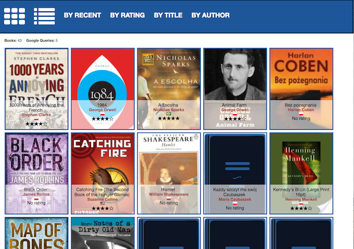 Ebook Library screenshot