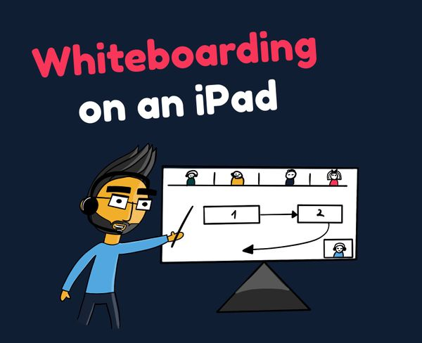 How to use an iPad as a whiteboard?